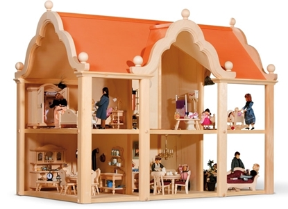 Picture of Wooden dollhouse Classic