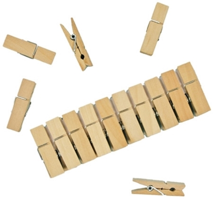 Picture of Wooden clothes pegs