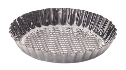 Picture of Metal flat pan with checkered bottom