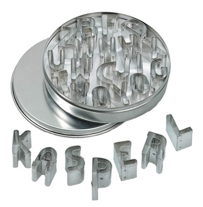 Picture of Pastry cutters letters