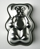 Metal baking mould for kids in the shape of a bear