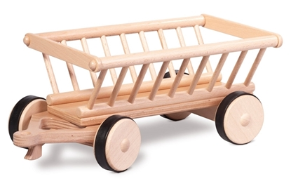 Picture of Wooden hay cart