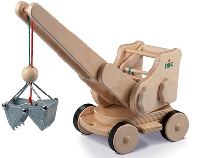 Picture of Wooden automotive excavator