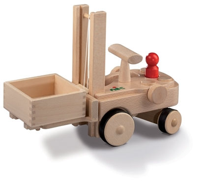 Picture of Wooden fork-lift truck