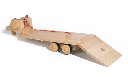 Picture of Wooden low bed truck