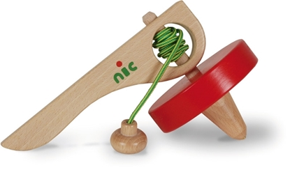 Picture of Wooden super peg top