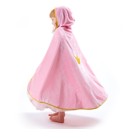 Picture of Pink princess cape