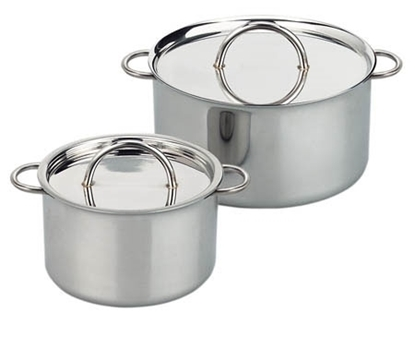 Picture of Stainless steel saucepan with lid
