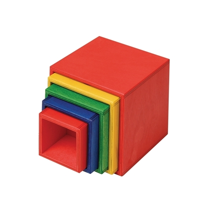 Picture of Wooden stack cubes