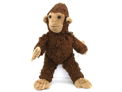 Picture of Monkey Brown Organic Cotton