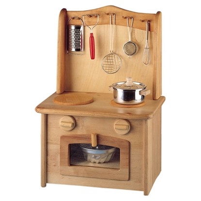 Picture of Wooden cooker and sink