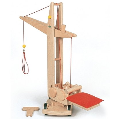 Picture of Wooden building crane