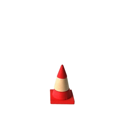 Picture of Wooden traffic cone