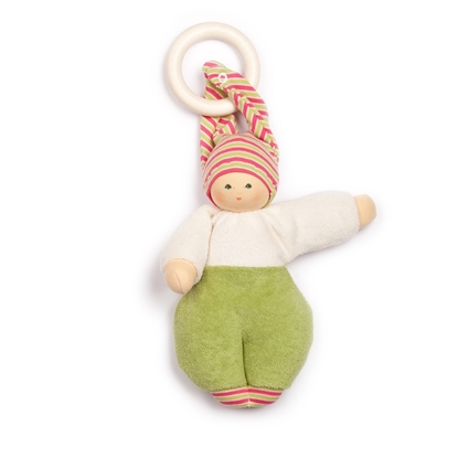 Picture of Doll Lolly green with removable teether