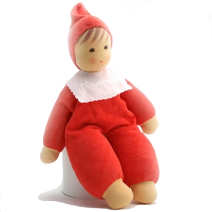 Picture of Doll red terry