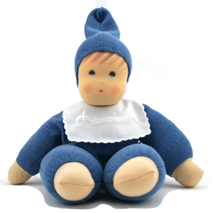 Picture of Doll blue terry