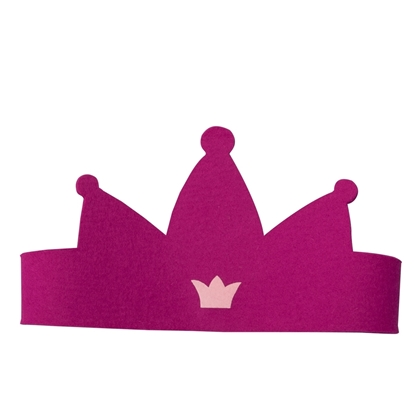 Picture of Pink princess crown