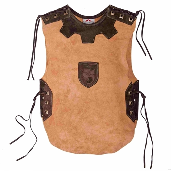 Picture of Knight tabard short, leather
