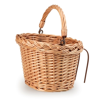Picture of Wicker bike basket