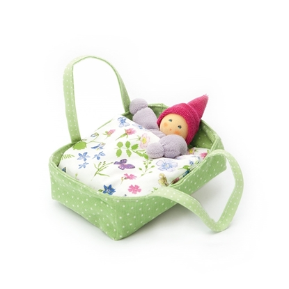 Picture of Green flower carrycot