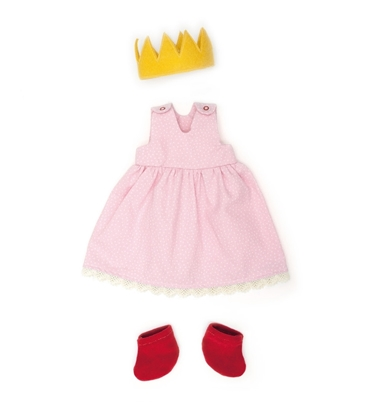 Picture of Pink doll dress in organic cotton