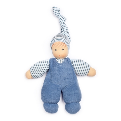 Picture of Doll with blue overalls