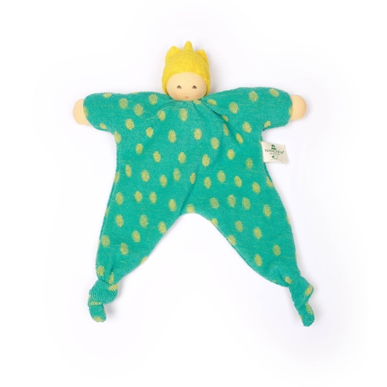 Picture of Rattle doll Green Prince
