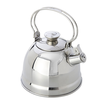 Picture of Stainless steel kettle with whistle