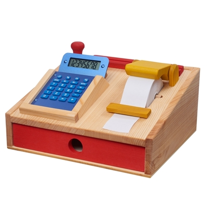 Picture of Cash register in solid wood