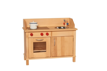 Picture of Play kitchen in solid wood