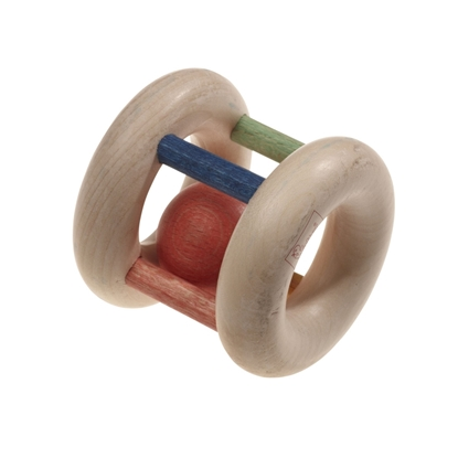 Picture of Organic roll rattle with ball