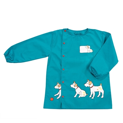 Picture of Green school art smock