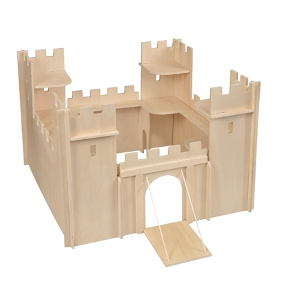 Picture of Wooden knight castle