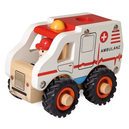 Picture of Wooden ambulance