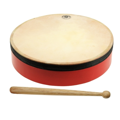Picture of Hand drum with stick for kids