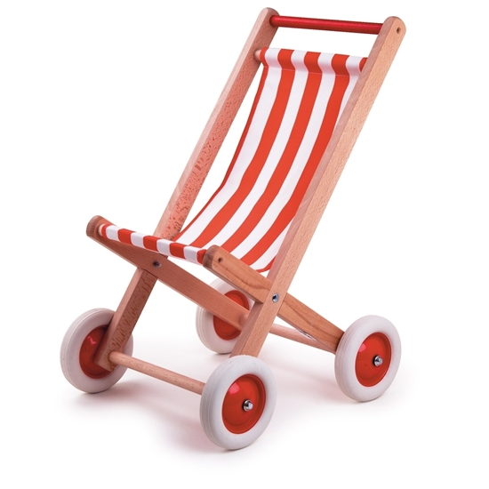 Picture of Wooden doll buggy