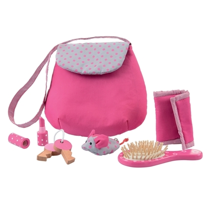 Picture of Cotton handbag for doll mothers