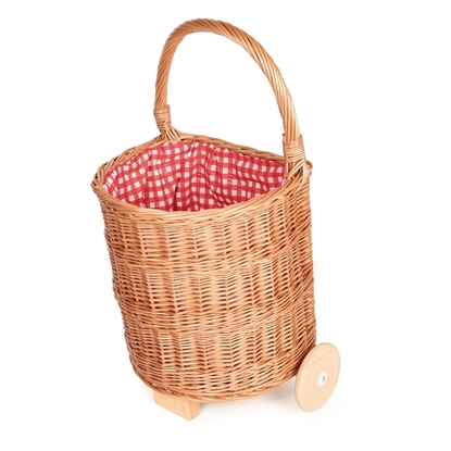 Picture of Wicker shopping caddy