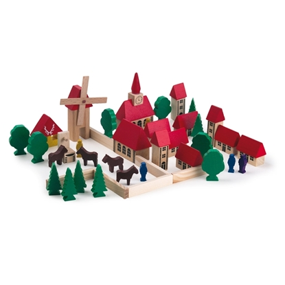 Picture of Wooden little town