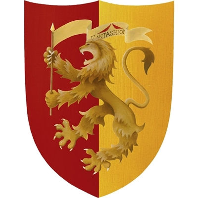 Picture of Big knight shield yellow-red
