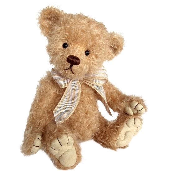 Light brown Teddy Bear in mohair.
