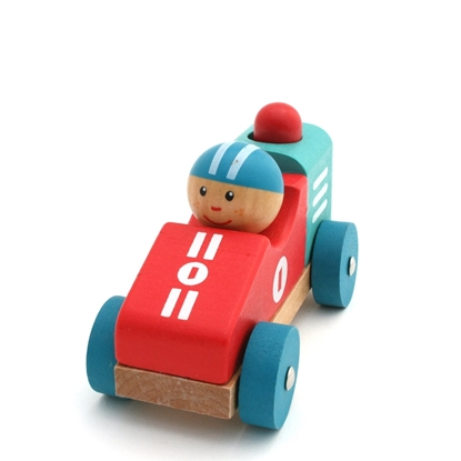 Picture of Baby race car with horn