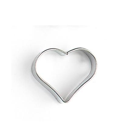 Metalen uitsteekvormpje hart